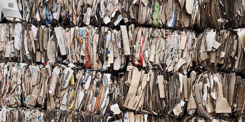 recyclage du papier